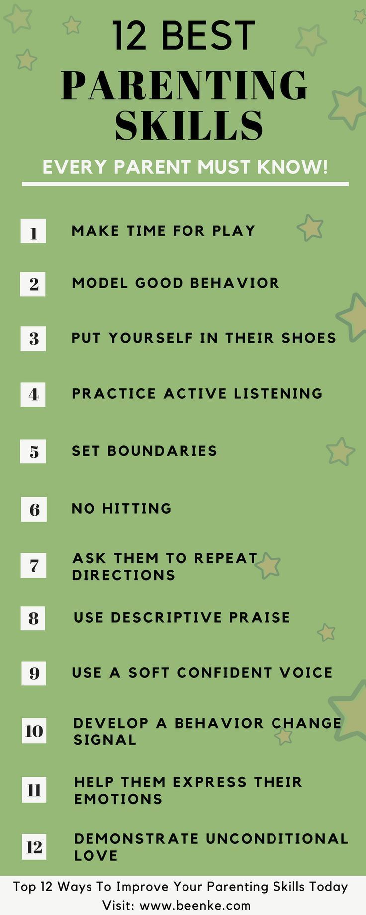 good parenting skills tips