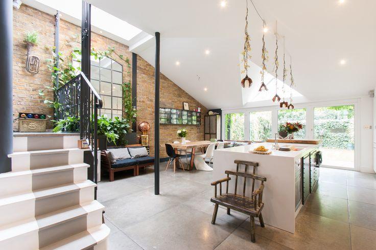 Interior design tips   Interiors   Decorating Ideas    Kitchen interior   Dining room   Exposed brick wall