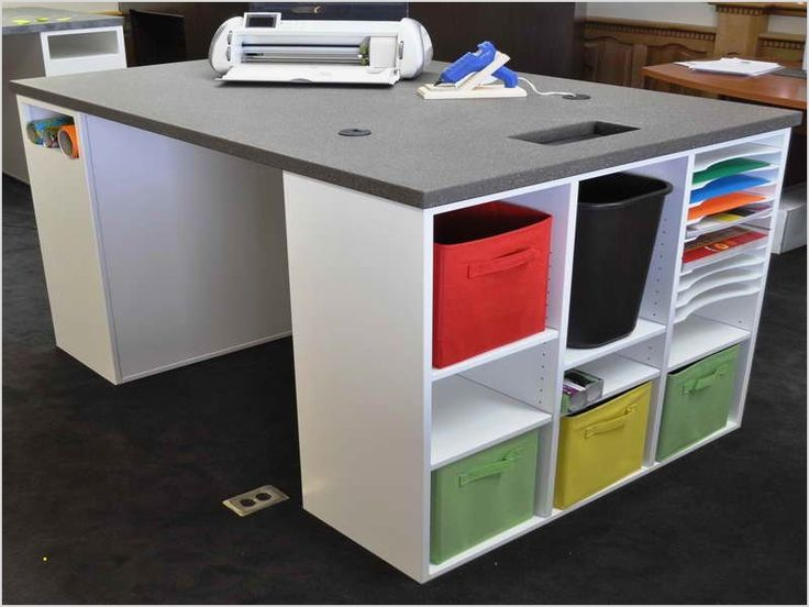 20 Best Craft Room Storage And Organization Furniture Ideas Craft Room Tables Craft Tables With Storage Craft Room Design