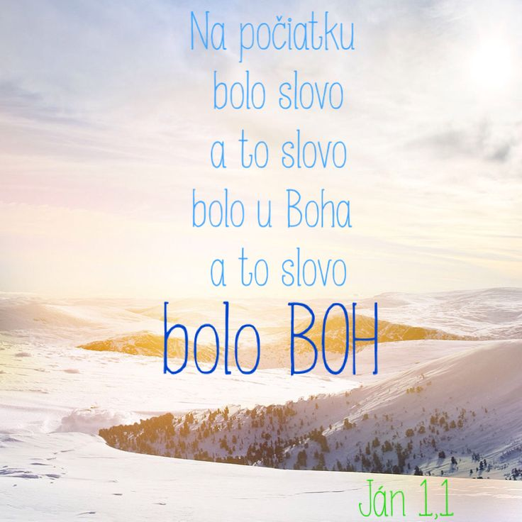 Boh :) Citát z Biblie ;) by John-Bible