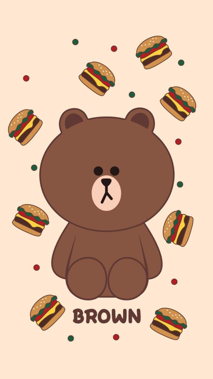 Pin oleh Senechka di Brown&Cony   Ilustrasi karakter, Beruang ...