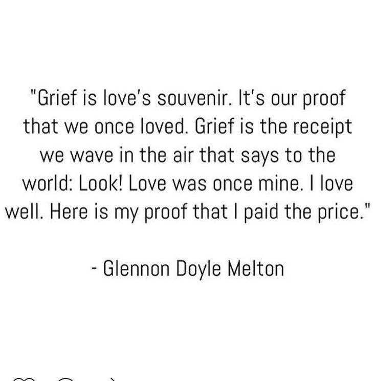 "Glennon Doyle Melton on Twitter: ""Grief is holy, like joy! Don't snatch it from…"