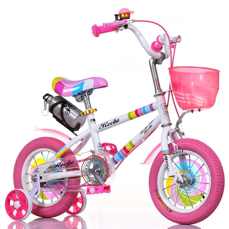 colored air tyre baby bikes with basket