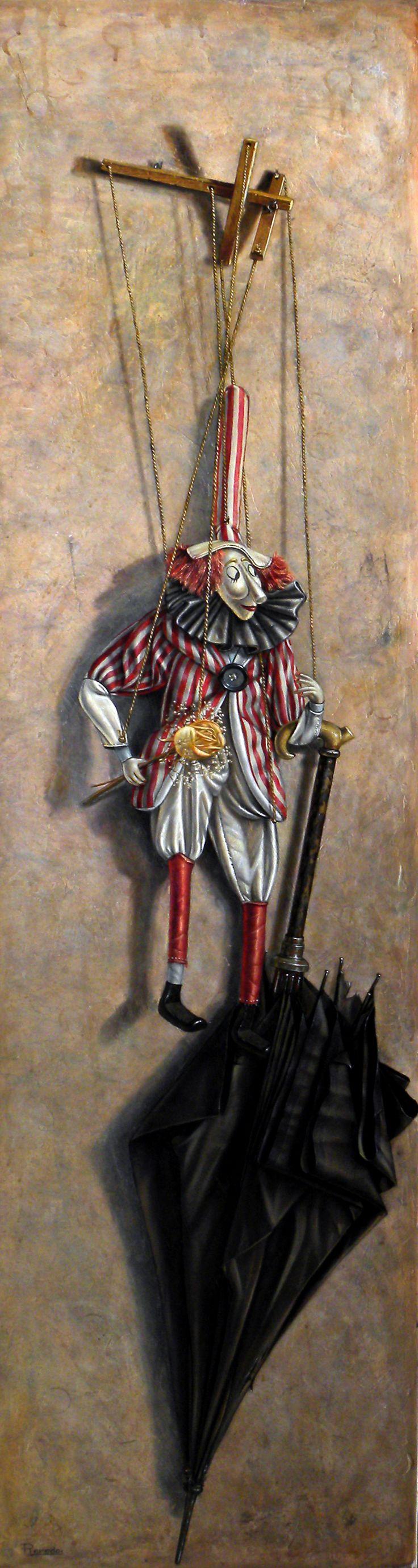 Marioneta  #art #painting Oleo sobre Lienzo http://ricardorenedo.gallery/