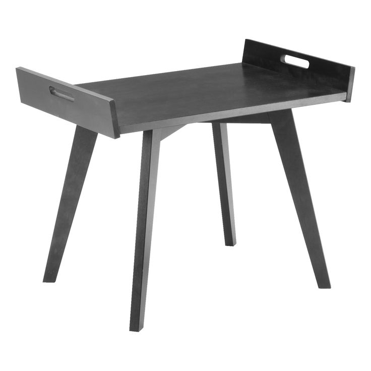 TUOKIO, Sohvapöytä, musta-> yöpöytä