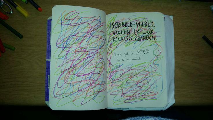 Scribble #wreckthisjournal