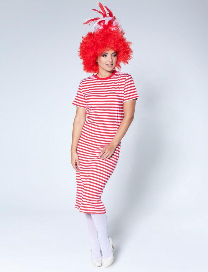 kurzarm rivelhemd rot weiss fuer karneval kaufen deiters rot