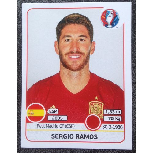 Football Soccer Sticker Panini UEFA Euro 2016 #355 Spain