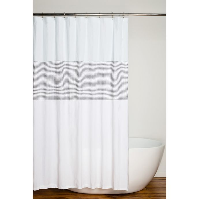 Nora Shower Curtain In Grey Bed Bath Beyond In 2019 Gray