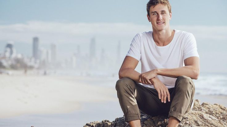 Australian Olympic swimming sensation Cameron McEvoy is getting ready to leave for Rio.