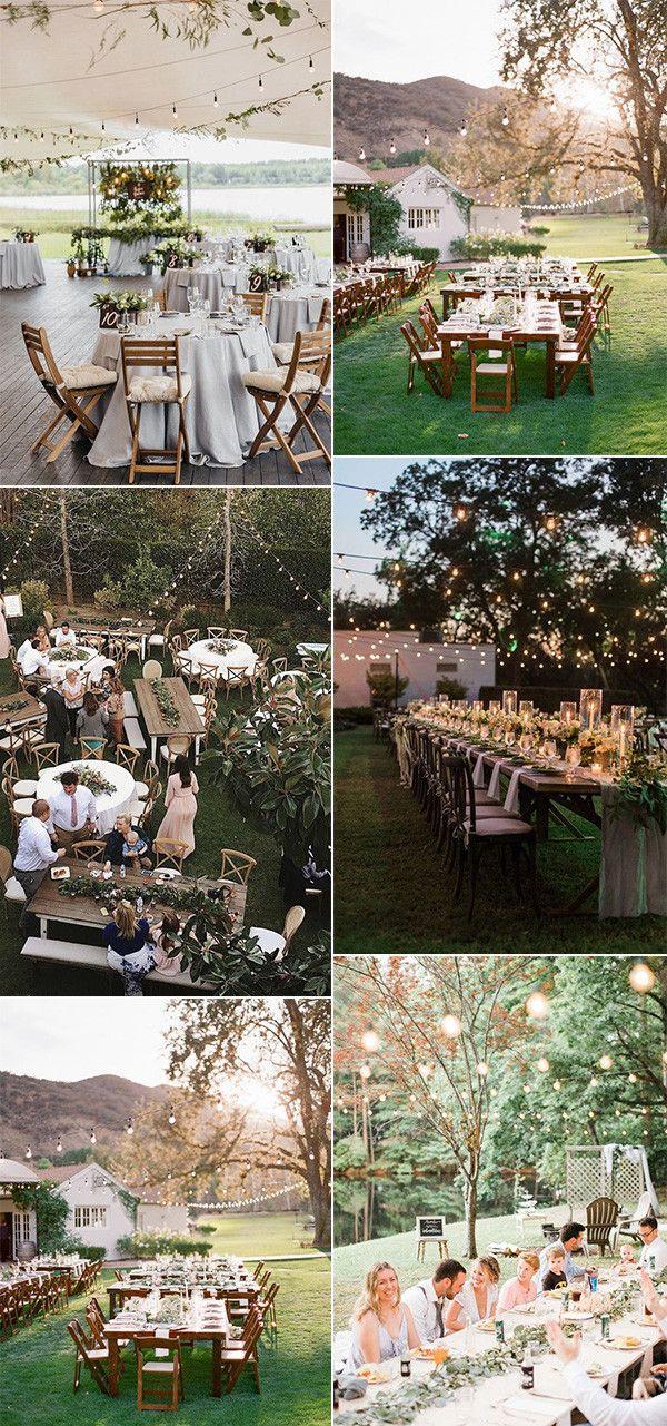 42 Backyard Wedding Ideas On A Budget For 2021 Backyard Wedding Decorations Wedding Backyard Reception Cheap Backyard Wedding