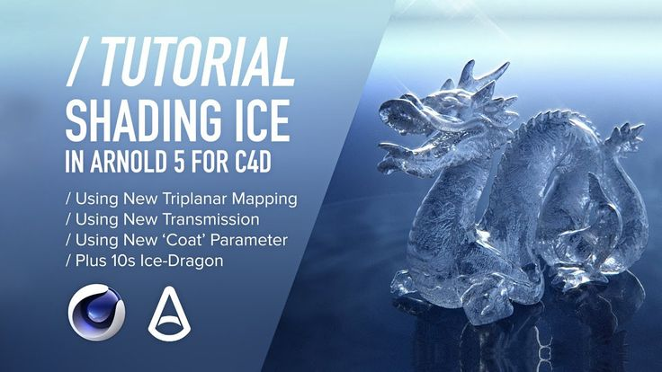 ( / ) C4D & Arnold TUTORIAL - Shading Realistic Ice