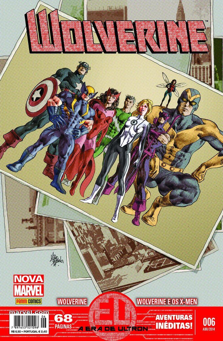 LIGA HQ - COMIC SHOP Wolverine Marvel Now #6 - Marvel PARA OS NOSSOS HERÓIS NÃO HÁ DISTÂNCIA!!!