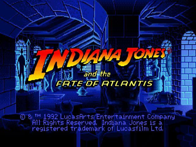 Indiana Jones and the Fate of Atlantis: Games, Fate Of Atlantis, Computers Games, Videos Games, Retro Games, Mejores Juegos, Juego Antiguo, Indiana Jones