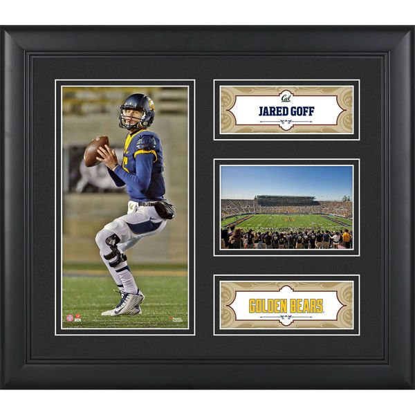 "Jared Goff California Golden Bears Fanatics Authentic Framed 15"" x 17"" Collage - $49.99"