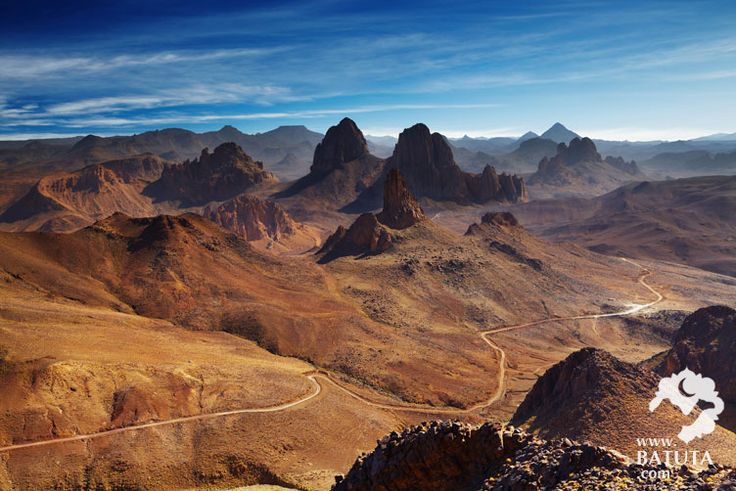 أجمل-الصور-السياحية-في-الجزائر---جبال-هقار-في-ولاية-تمتراست