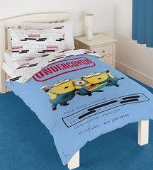 DESPICABLE ME ~ 'Undercover' Single Bed Reversible Quilt Set