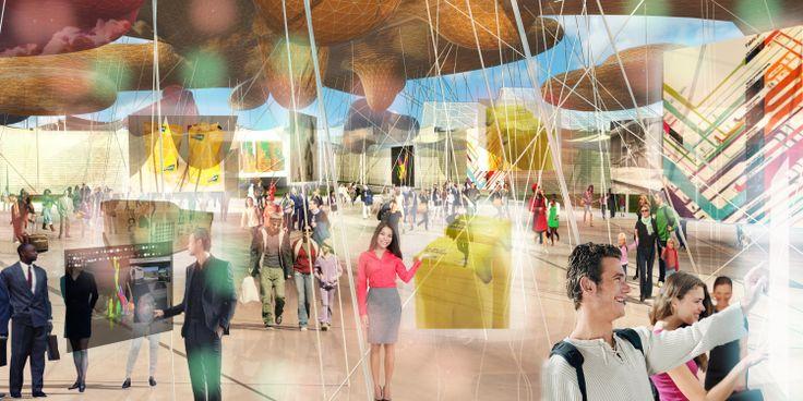 Gli Spazi Espositivi del settore #corporate si trovano a Sud del #ParcoDellaBiodiversita, vicino all'ingresso Est di #Expo2015. Qui il visitatore avrà l'occasione di vedere come le aziende applicano la ricerca e le idee più innovative. #ExpoMilano2015 #ExpoCantiere