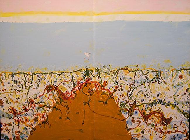 © John Olsen at Tim Olsen Gallery Sydney Australia