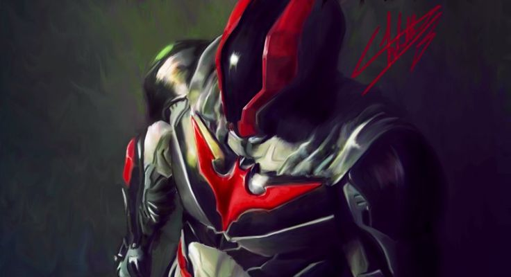 Batman Beyond Injustice 2 by Wallace Bustamante de Souza