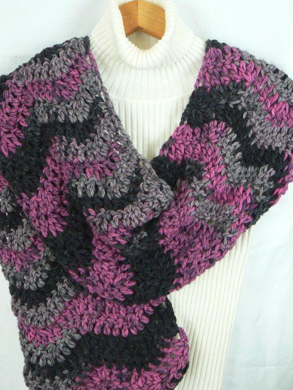 Free Crochet Patterns Zig Zag Scarf : Pin by Karol Jennings on Crochet Pinterest