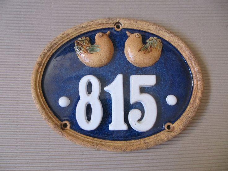 Domovní císlo Domovní císlo oval 35x27cm