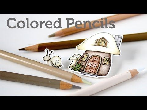 Card Making and Paper Crafting How To: Colored Pencils - YouTube