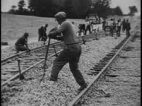 African-American: Gandy Dancers/Railroad workers and their songs