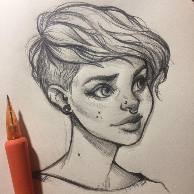 Ich liebe es, auf Pinterest nach Skizzen zu stöbern! Es gibt so viele schöne