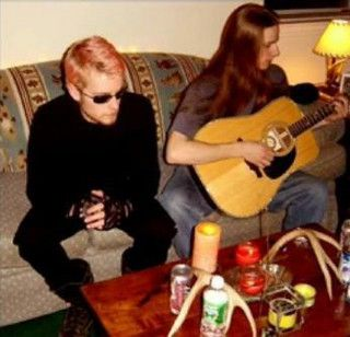 Layne & Jerry before MTV's Unplugged. KM