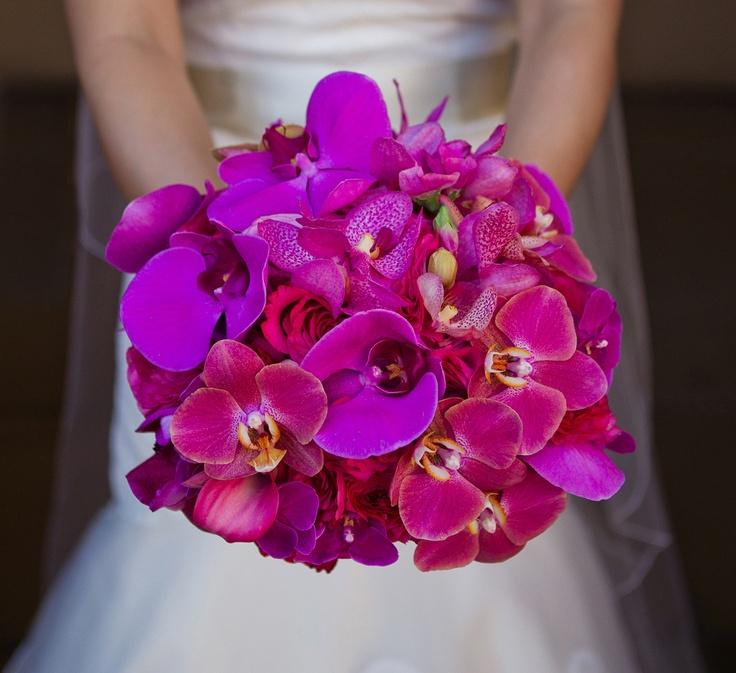 Fuchsia Wedding Flowers: 76 Best Images About Dark Grey Pink/purple Wedding On