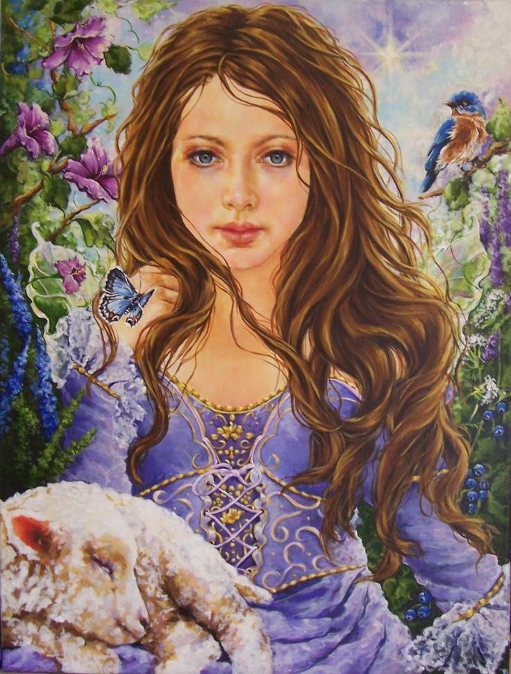 Original Painting-all like this are Jonnie Petros
