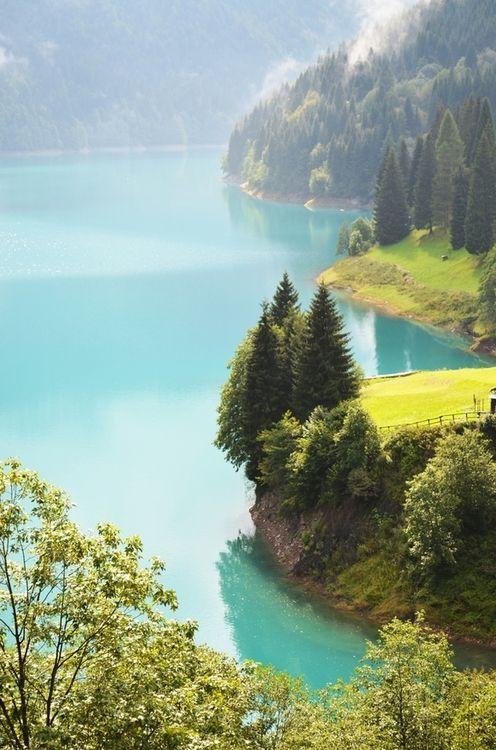 Turquoise, Lake Sauris, Friuli - Italy