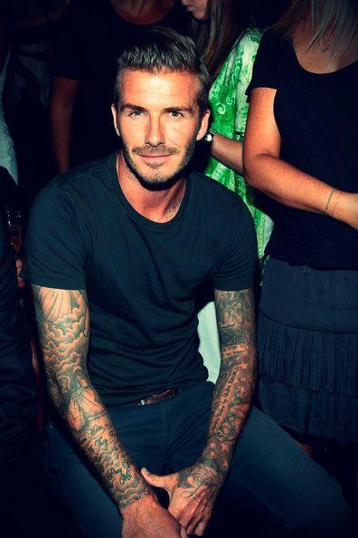 David Beckham.Tattoos