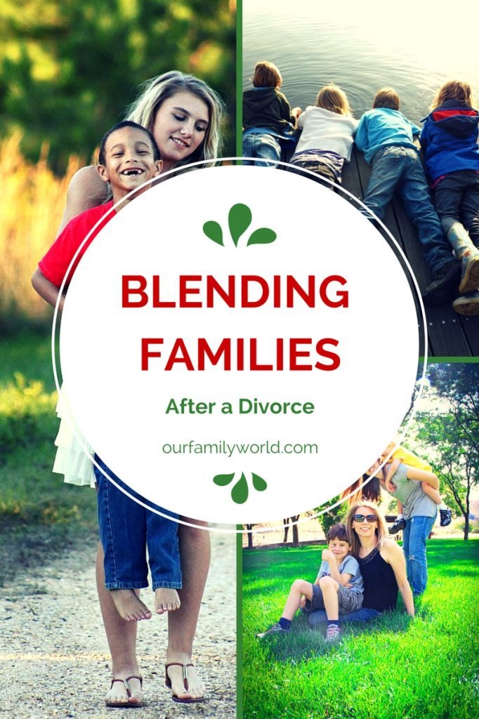 How to Merge Blended Families After Divorce