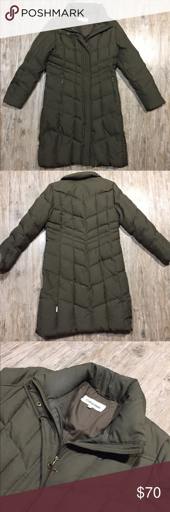Calvin Klein Women's Puffer Coat Size small, excellent used condition with no flaws. Calvin Klein Jackets & Coats Puffers
