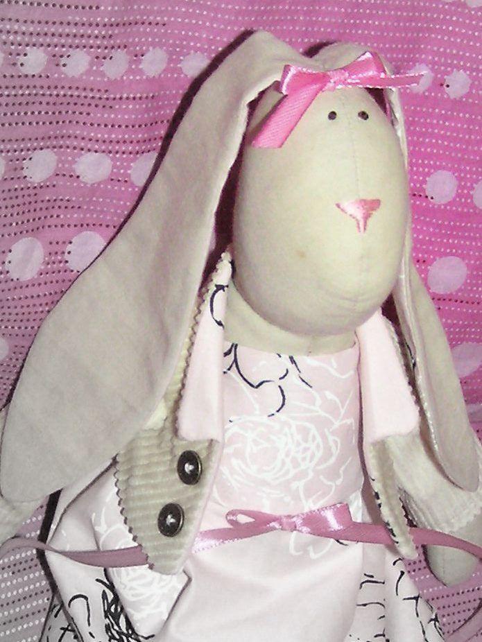 Tutorial Sew Tilda Bunny Pattern Kids World