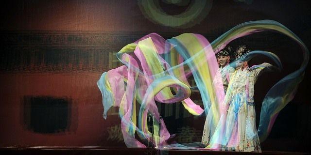 20 Enero DE 2013/ VIÑA DEL MAR  Con la ópera de Beijing de Nanjing se dio termino a la celebración del año nuevo Chino en Viña del Mar.  FOTO: PABLO OVALLE ISASMENDI/AGENCIAUNO