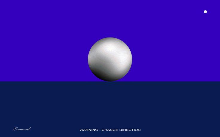 WARNING-CHANGE DIRECTION