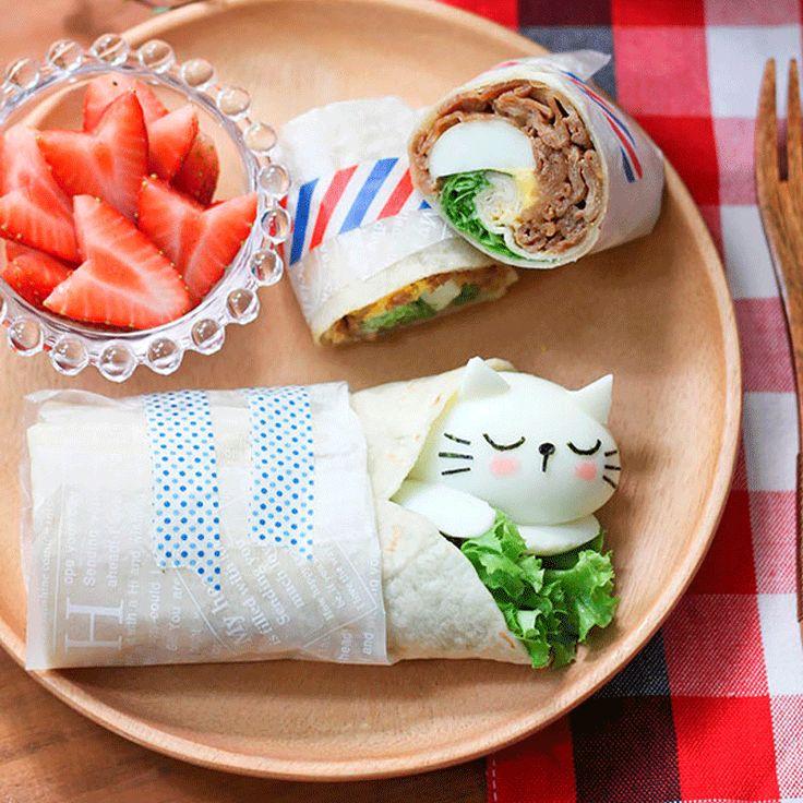 Comida sana y muy muy tierna ;-)