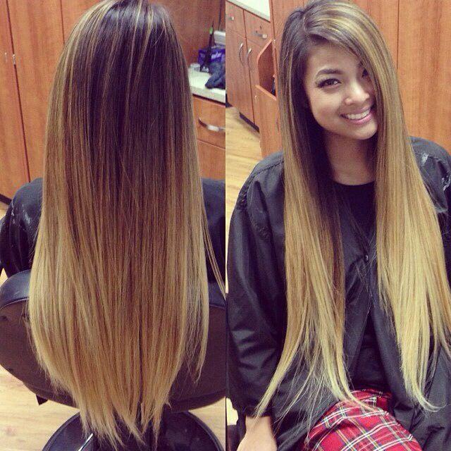 Hairstyles, Hair Styles, Ombre Hair, Long Hair, Hair Makeup, Longhair ...