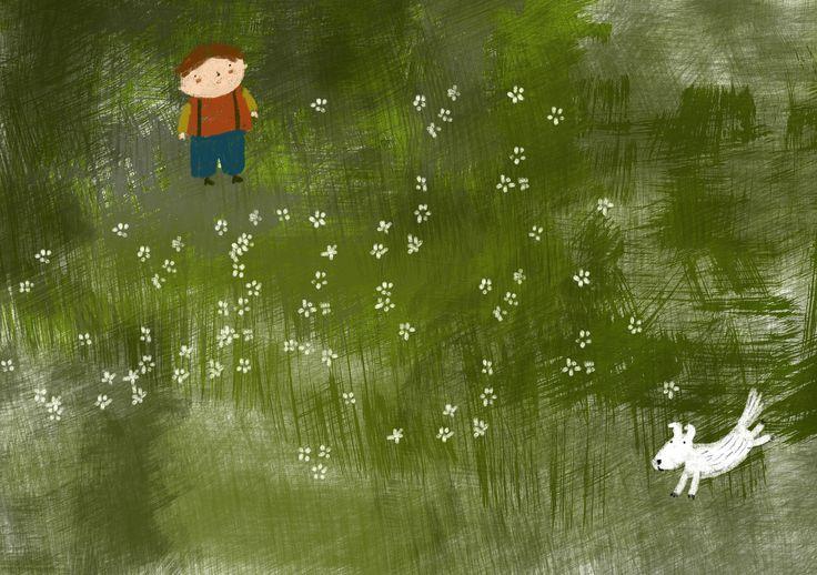 ''spring''illustration by zafouko yamamoto