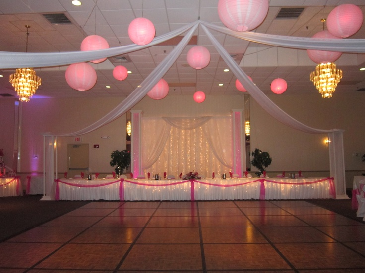 17 best images about sweet sixteen and quinceanera decor for Floor decoration ideas