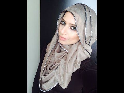 Simple and Easy Hijab Tutorial - YouTube