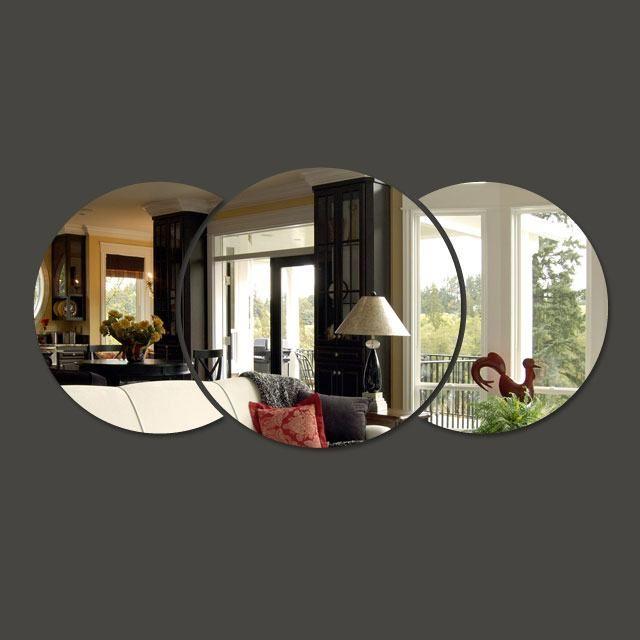 Opções agradáveis em espelhos decorativos para sala | Facil Decore