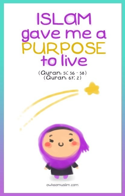 Islam Gave Me A Purpose To Live