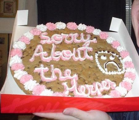 Why? Oh Why would you put this on a cookie.