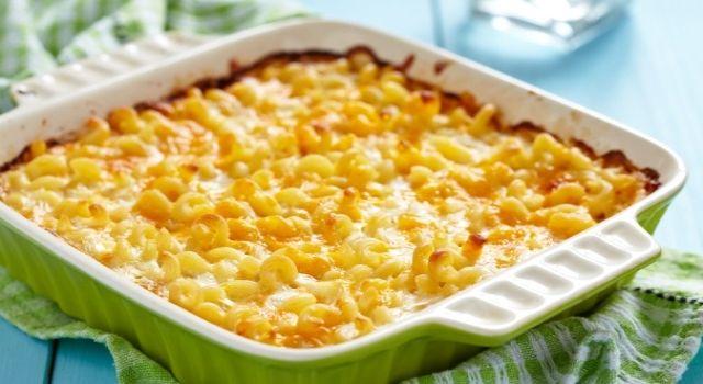 Macarrones con queso estilo americano