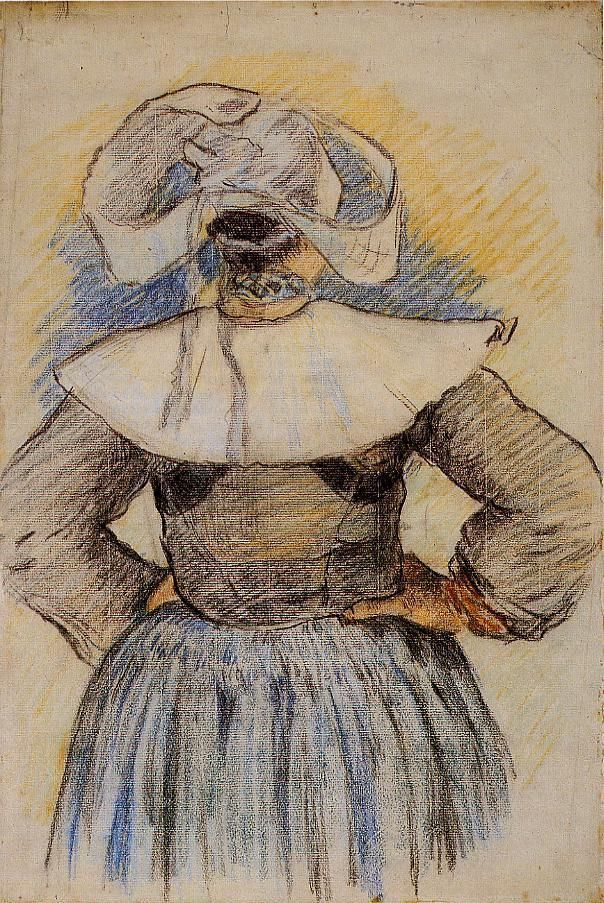 Breton Woman - Paul Gauguin