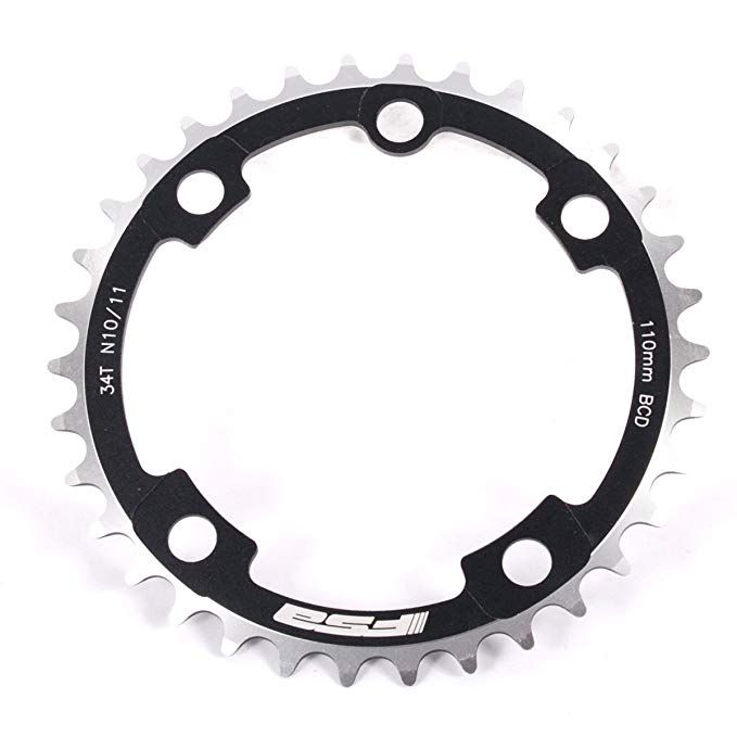 Fsa Sl K Super Abs Road Bicycle Chainring 110x34t N 10 11 371